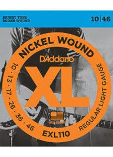 D'Addario D'Addario EXL110 10-46 Nickel Wound