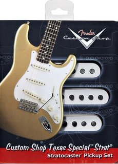 Fender Fender Custom Shop Strat Texas Special Pick-ups