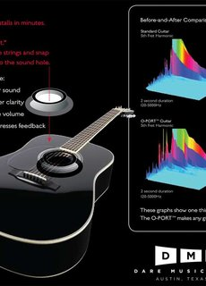 O-Port O-Port Soundhole Enhancer Steelstring