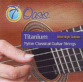 Oasis Oasis Titanium Nylon Strings M/H TS-6000