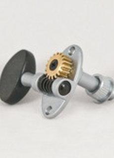Schertler Schertler Tuners Chrome Solid Peghead Ebony