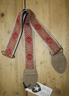 Souldier Straps Souldier Strap Dresden Star Taupe Red