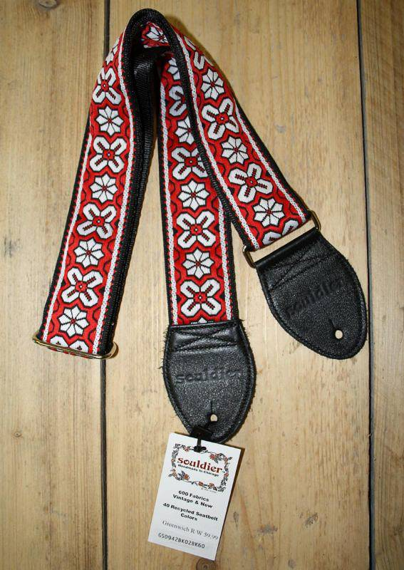 Souldier Straps Souldier Strap Greenwich Red White