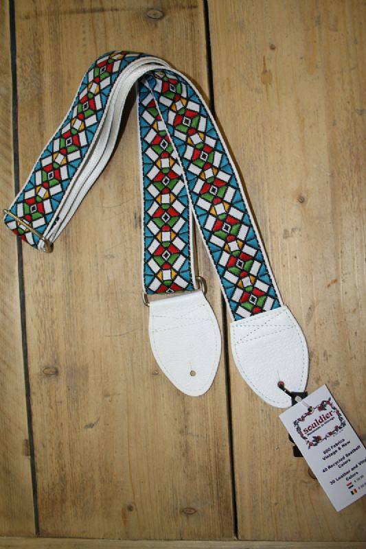 Souldier Straps Souldier Strap Stained Glass Blue White