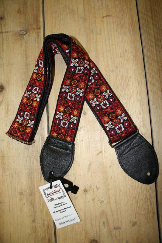 Souldier Straps Souldier Straps Woodstock Red