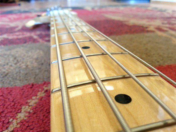 Fender Fender American Vintage '58 P-Bass White Blonde