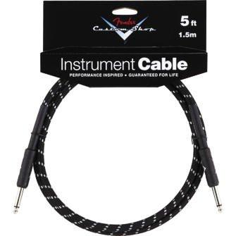 Fender Fender Custom Shop Cable Black/Tweed 5ft