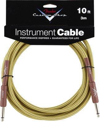 Fender Fender Custom Shop Cable Black/Tweed 10ft