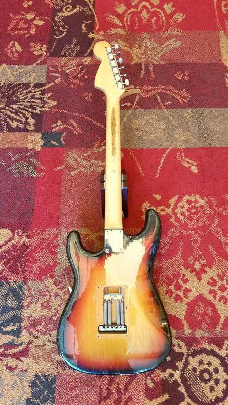 Fender Fender early 1970 Stratocaster Sunburst w/case
