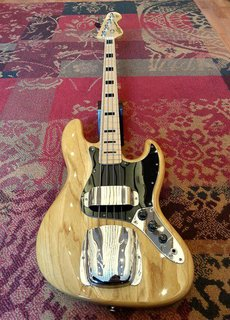 Vintage Vintage Jazz Bass VJ74NAT Naturel