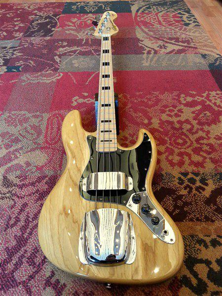 Vintage Vintage Jazz Bass VJ74NAT Naturel