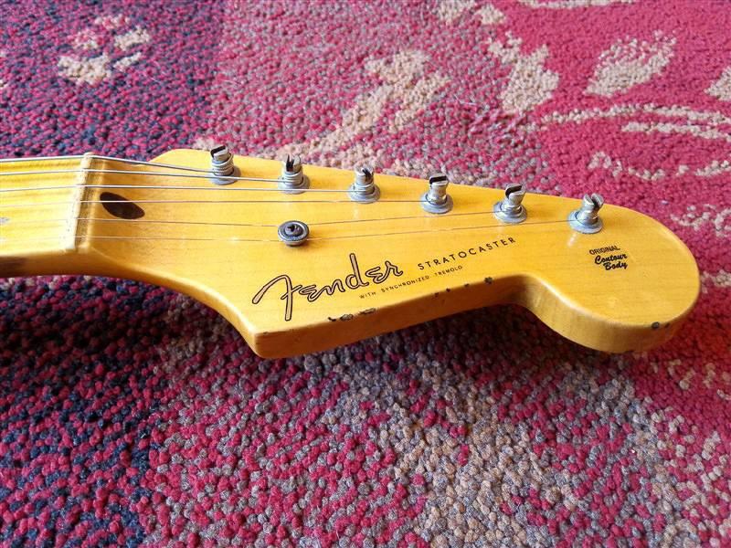 Fender Fender Custom Shop Limited Edition 1955 Relic Strat 2-tone