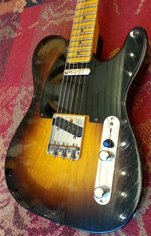 Fender Fender Custom Shop 20th Anniversary Relic Nocaster 2-T Sunburst
