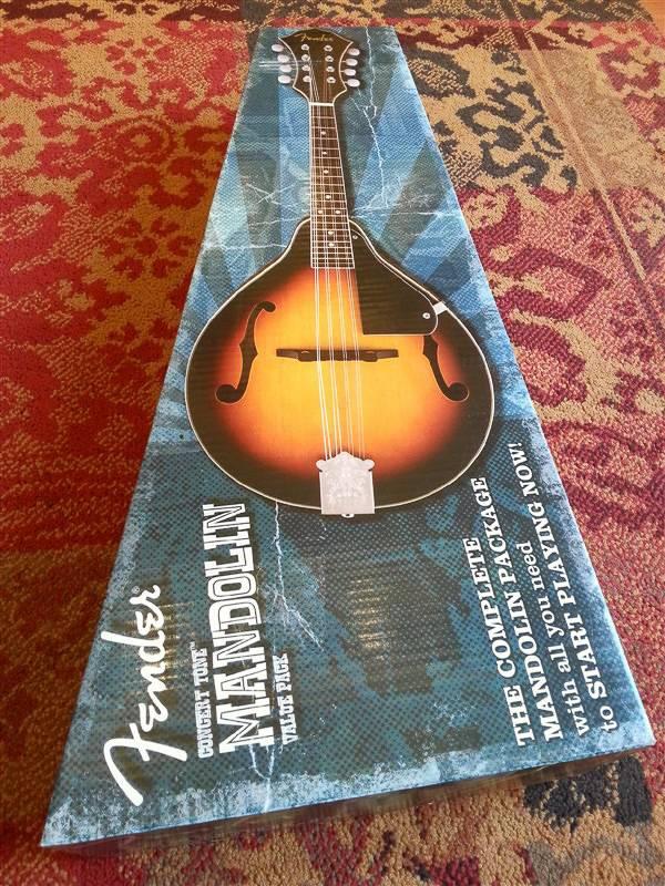 Fender Fender  Concert Tone Mandolin pack