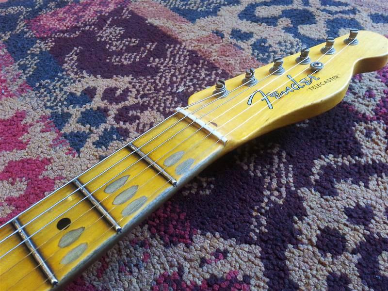Fender Fender Custom Shop NAMM Special 55 Tele Journeyman Antique White Blonde