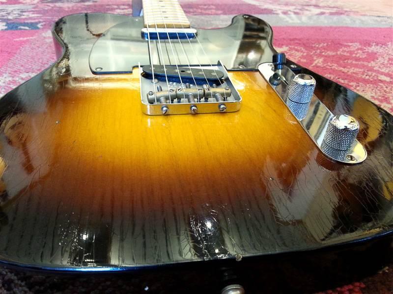 Fender Fender Custom Shop '52 MOD Journeyman Tele Faded 2-T SB