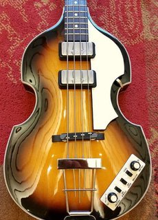 Höfner Höfner Cavern Spaced Violin Bass HCT-500/1-CV Sunburst