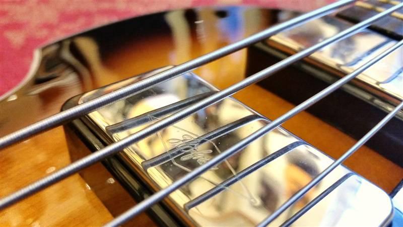 Höfner Höfner Cavern Spaced Violin Bass HCT-500/1-CV Sunburst