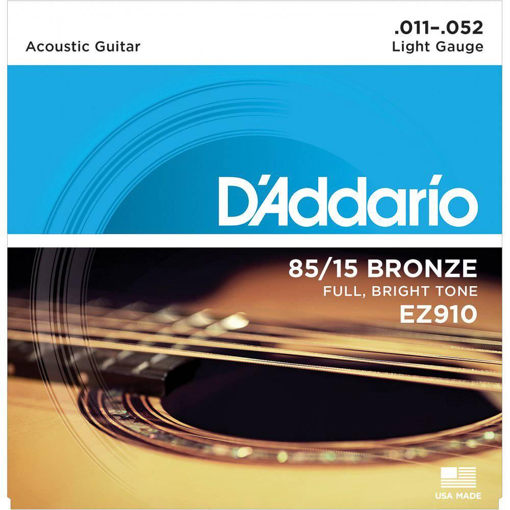 D'Addario D'Addario EZ910 Bronze 11-52 Light