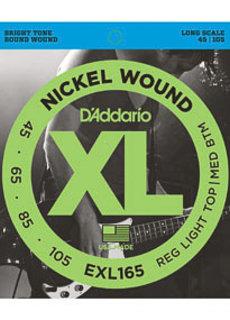 D'Addario D'Addario EXL165 45-105 Nickel Wound
