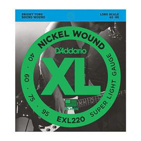 D'Addario D'Addario EXL220 40-95 Nickel Wound