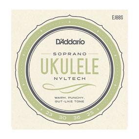 D'Addario D'Addario EJ88S Soprano Nyltech Ukulele Strings