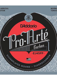 D'Addario D'Addario EJ45FF Pro Arte Carbon Normal tension