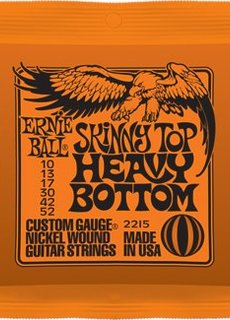 Ernie Ball Ernie Ball 2215 Skinny Top Heavy Bottom