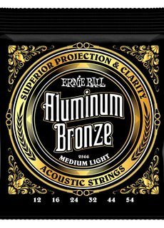 Ernie Ball Ernie Ball Aluminium Bronze Medium Light 12-54 2566