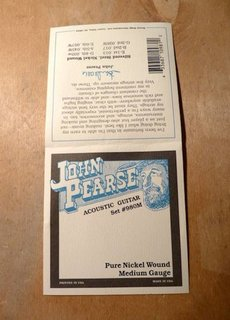 John Pearse John Pearse 980M Pure Nickel Medium Gauge