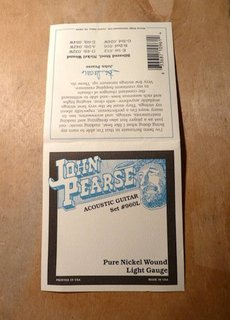 John Pearse John Pearse 960L Pure Nickel Light Gauge