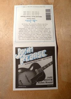 John Pearse John Pearse 2700 Jazz Nickel Medium Gauge