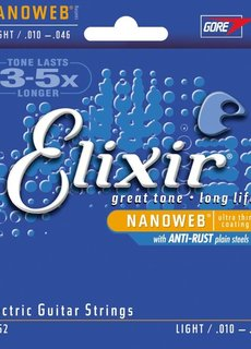 Elixir Elixir Nanoweb 10-46 Electric Guitar Strings 12052