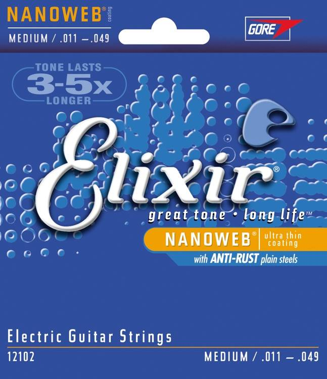 Elixir Elixir Nanoweb 11-49 Electric Guitar Strings