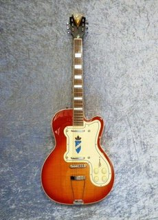 Kay Kay Thin Twin K161V Vintage Reissue Sunburst