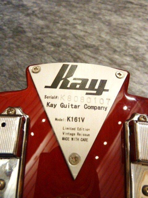 Kay Kay Thin Twin K161V Vintage Reissue Sunburst