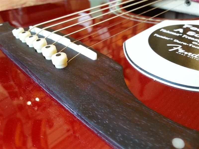 Fender Fender Sonoran SCE Candy Apple Red