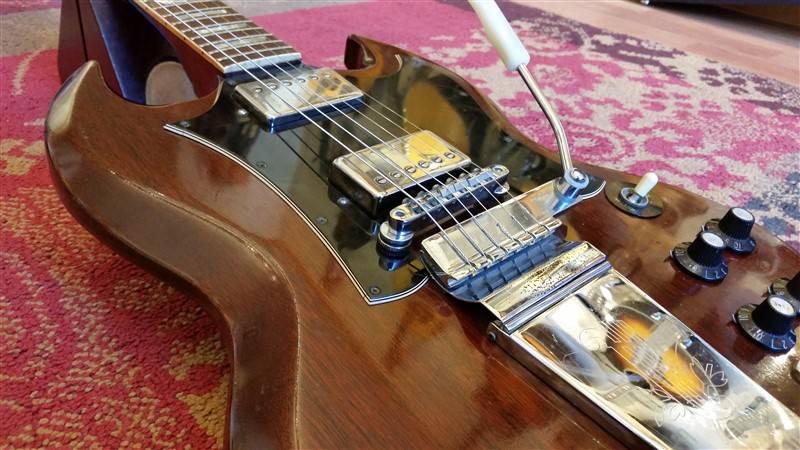 Gibson 1968 Gibson SG Cherry w/Maestro Vibrola