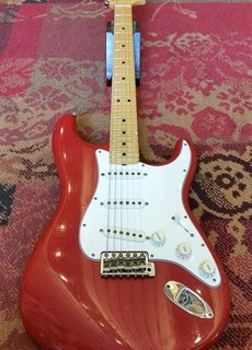 Fender Fender Custom Shop Journeyman '69 Strat Aged Dakota Red