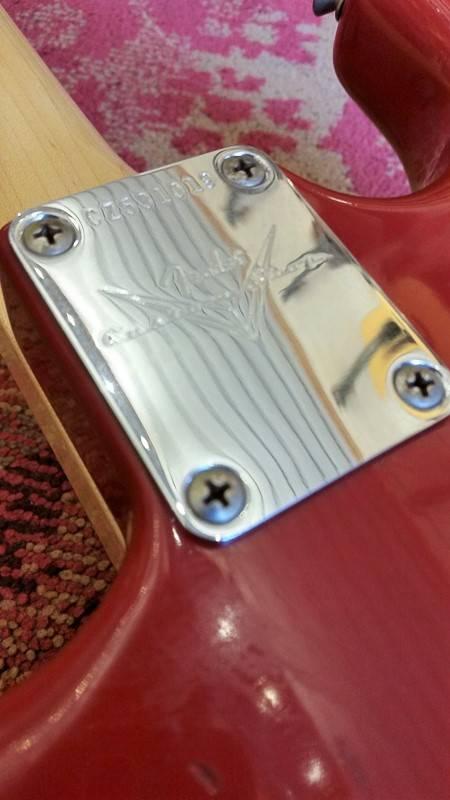 Fender Fender Custom Shop Journeyman '69 Strat Aged Dakota Red