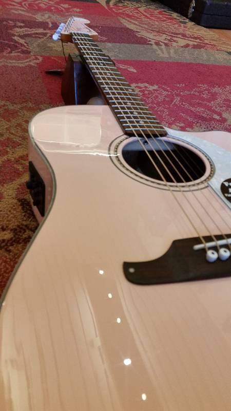 Fender Fender Sonoran SCE Shell Pink