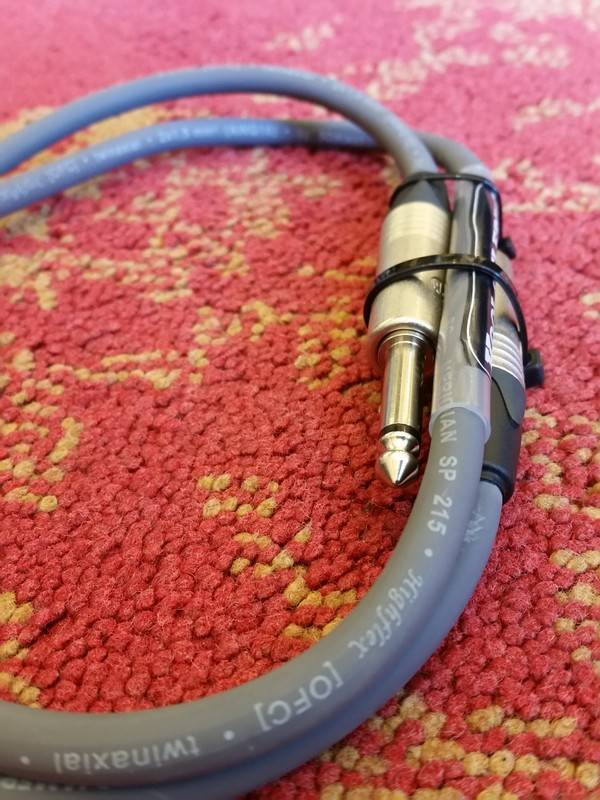 Kool & Elfring Kool & Elfring speaker cable 1m Neutrik