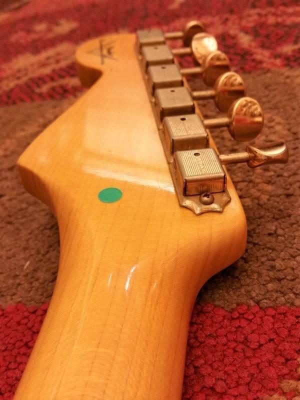 Fender Fender Custom Shop '56 Strat Faded 3-T S/B Gold HW