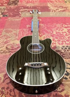 Ibanez Ibanez AEB8E-BK-2Y-01 Acoustic Bass