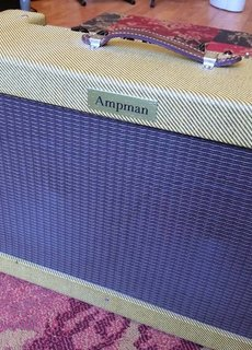 Ampman Ampman Handwired Tweed '50s Bassman 2x10