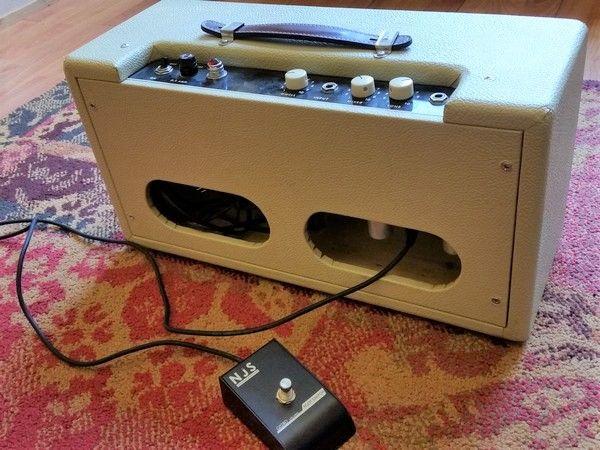 Ampman Ampman 2013 Handwired Blonde Reverb Tank