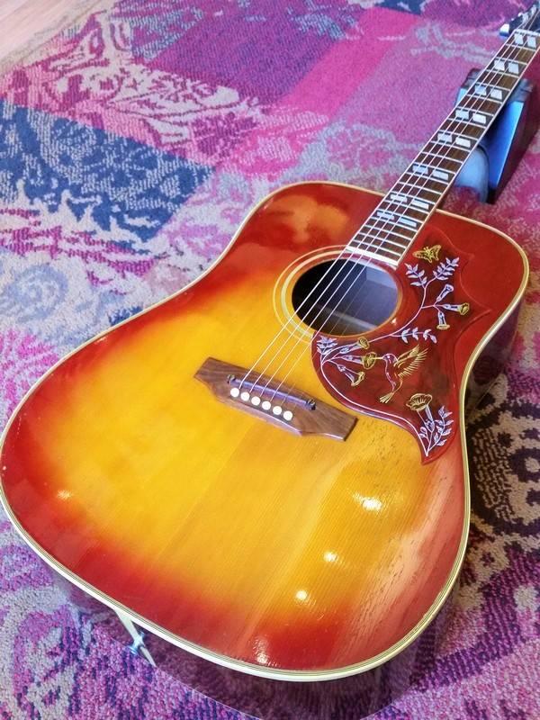 Gibson 1970 Gibson Hummingbird (All Original)
