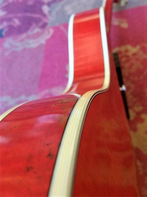 Eastman Eastman T59/v Antique Red Varnish Ltd. Edition