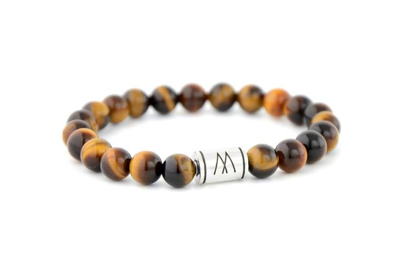 BROWN BRACELET - SILVER BROWN TIGER EYE