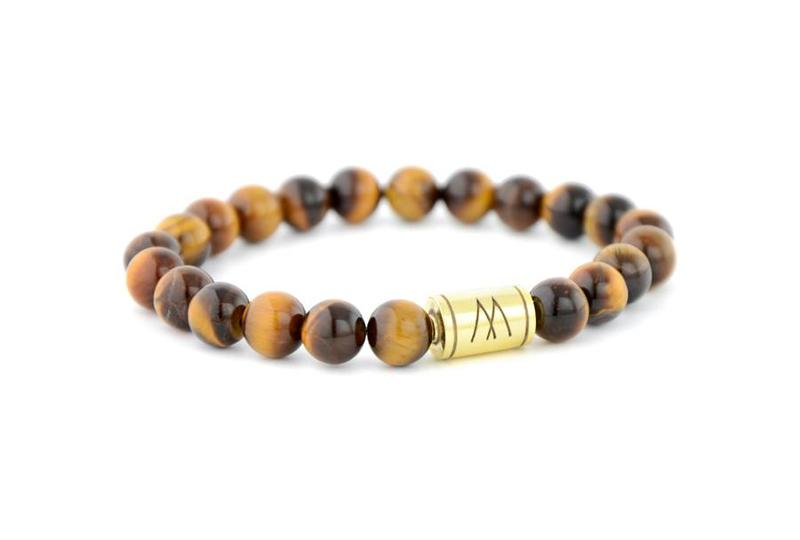 Brown Bracelet - Gold Brown Tiger Eye